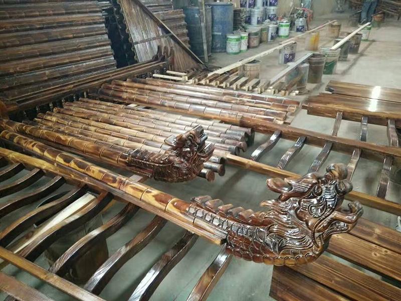 江西防腐木凉亭与钢筋水泥凉亭的区别